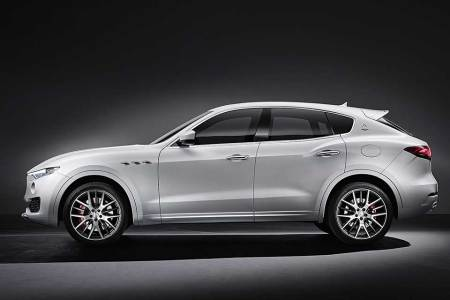 The First Photos of Maserati's SUV Just Leaked, and She's a Looker