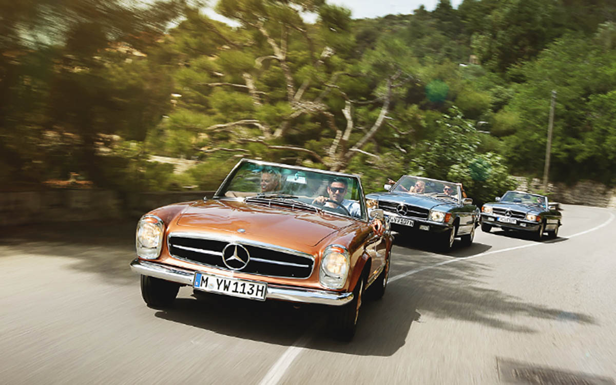 """Mercedes to Host """"Road Trips"""" in Tuscany and the French Riviera"""