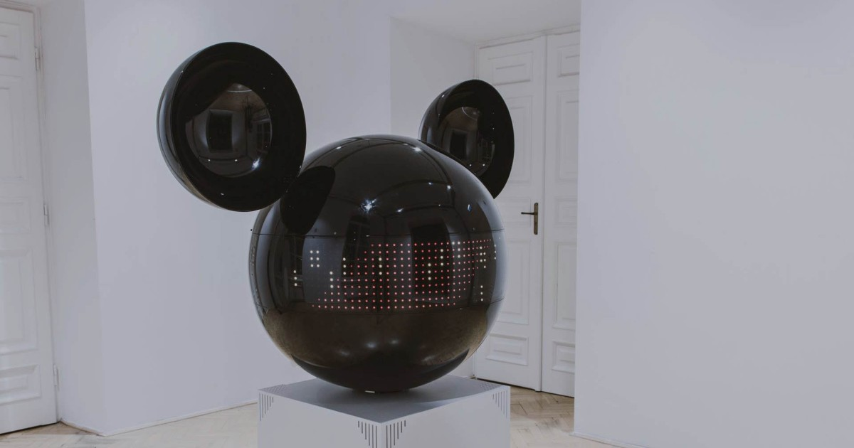 Musical Mickey Mouse Robot Will Delight/Terrify Your Children