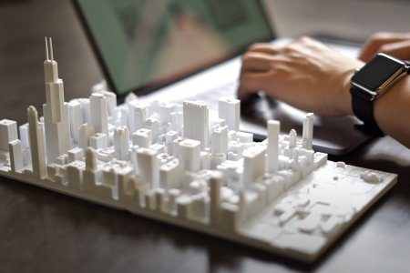 Microscape's Scale Model of Chicago Is the Ultimate Office Accessory