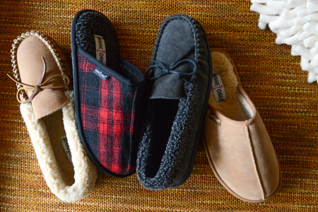 A Gentleman's Guide to House Shoes. Because Winter.