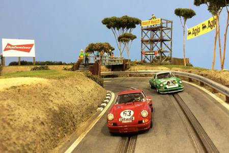 These $50k Racetrack Replicas Are Basically Model Trains on All the Steroids