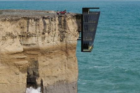 The Race to Build the First Cliffside Evil Lair Is Definitely On