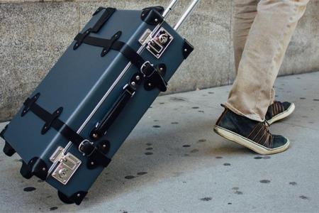 Revisit the Golden Age of Travel With This Incredibly Gorgeous Luggage Line