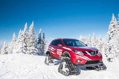 Nissan's Rogue Warrior Will Ruin All Other Snow Toys for You