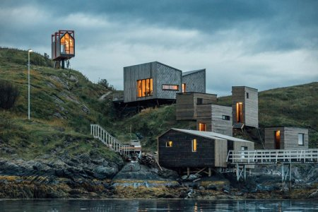 Heaven Is This Private Arctic Compound in Norway