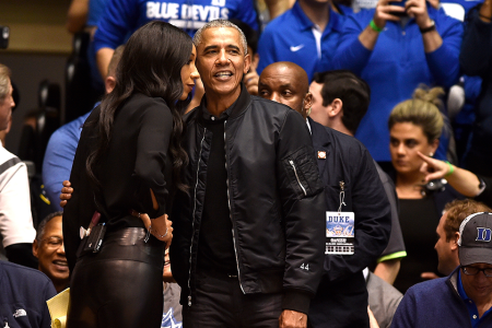 Obama's Black Bomber Would Make a Great Addition to Any Man's Closet