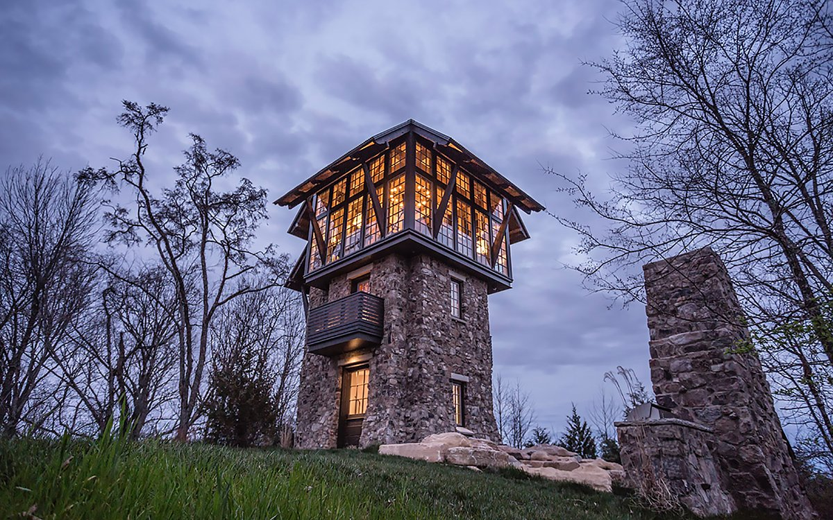 Today in House Porn: A Medieval Observation Tower in the Mountains