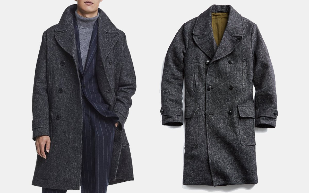 We've Championed This Italian Officer Coat Before. Now It's $720 Off.