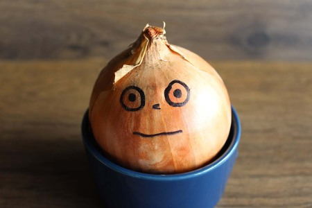 Great Odin's Raven! They've Invented a Tearless Onion.