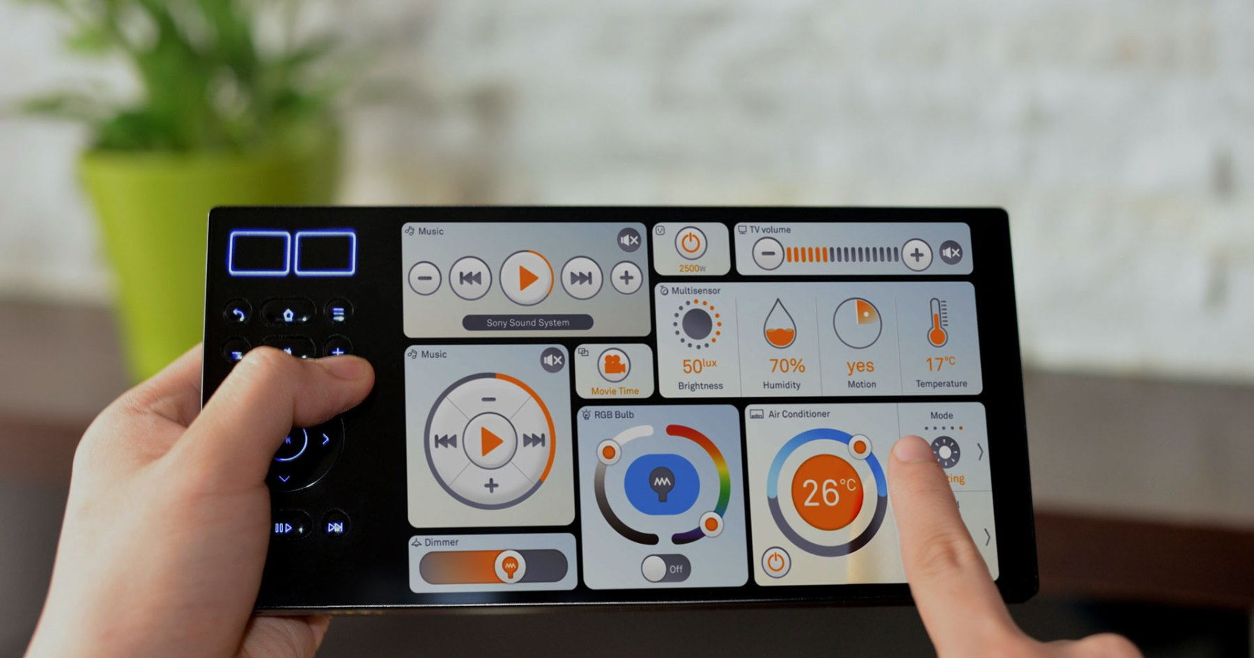 Control Your Entire Home from a Single Tablet