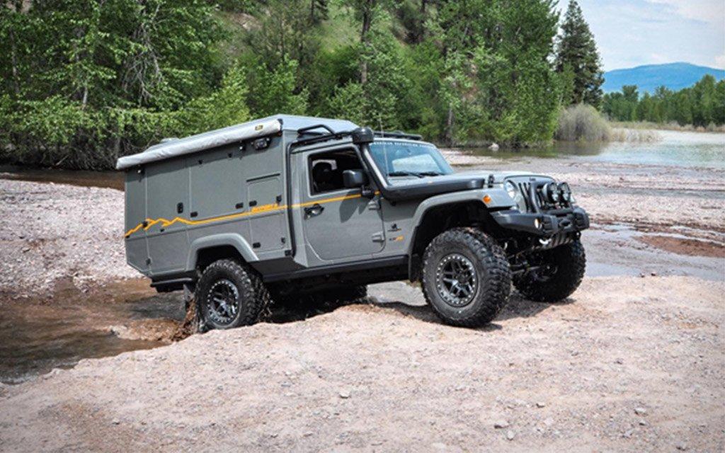 AEV Outpost II Jeep JK Camper Conversion - InsideHook