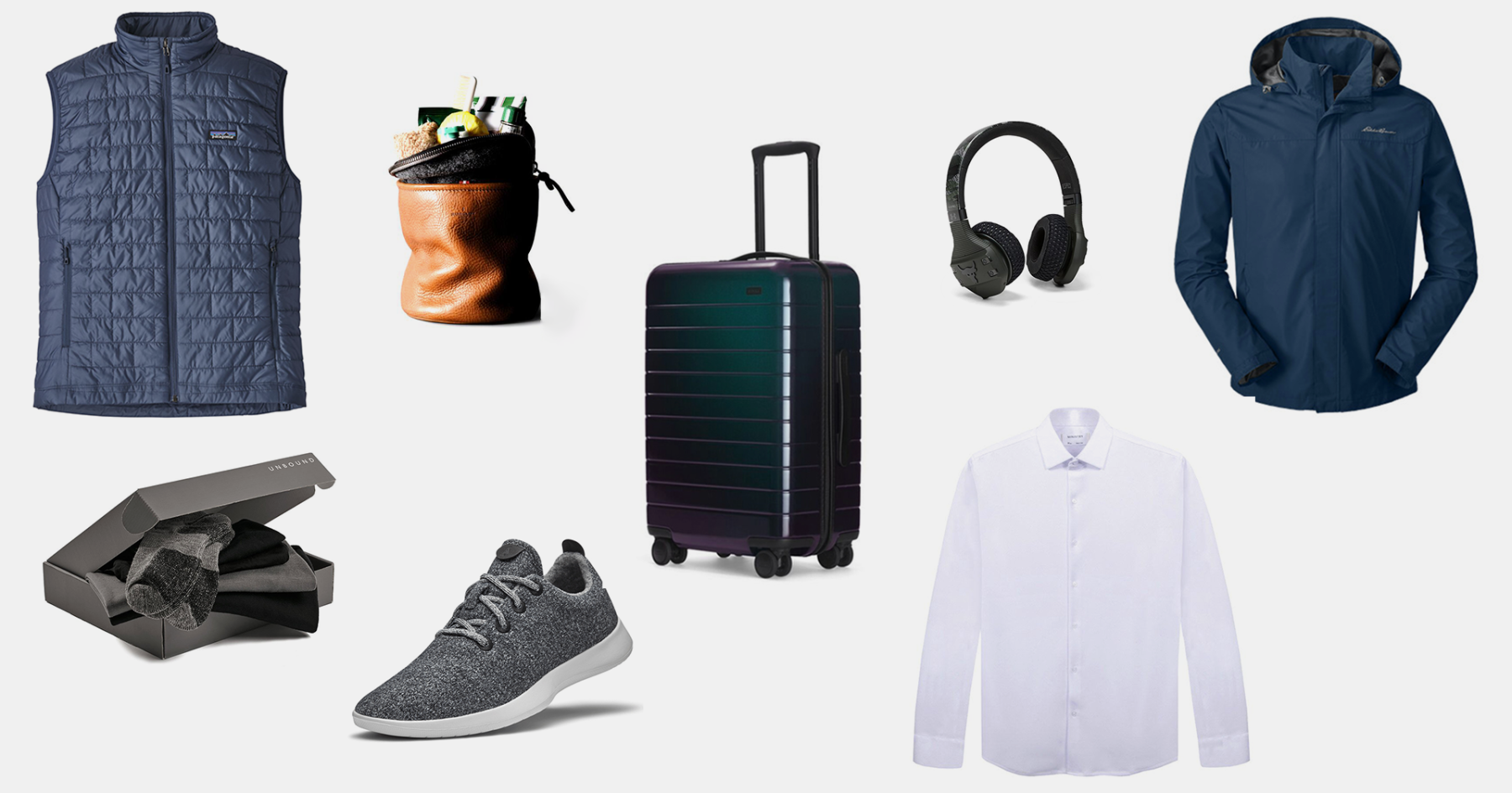The Ultimate Space-Saving Packing List for Guys, in 13 Items