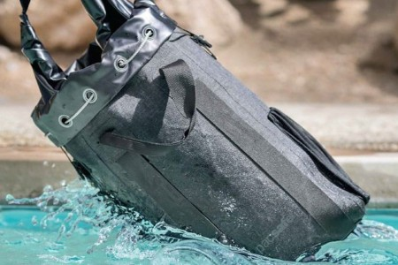A Waterproof Chain Mail Backpack, Because You Never Know
