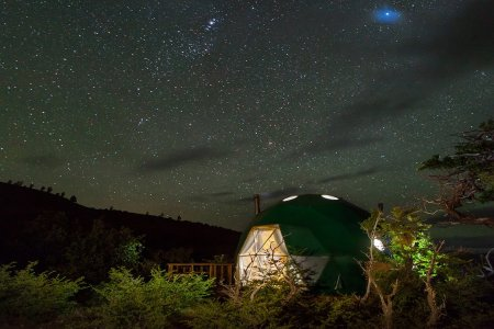 Patagonia's Got a Million-Star Dome Hotel. See You There.