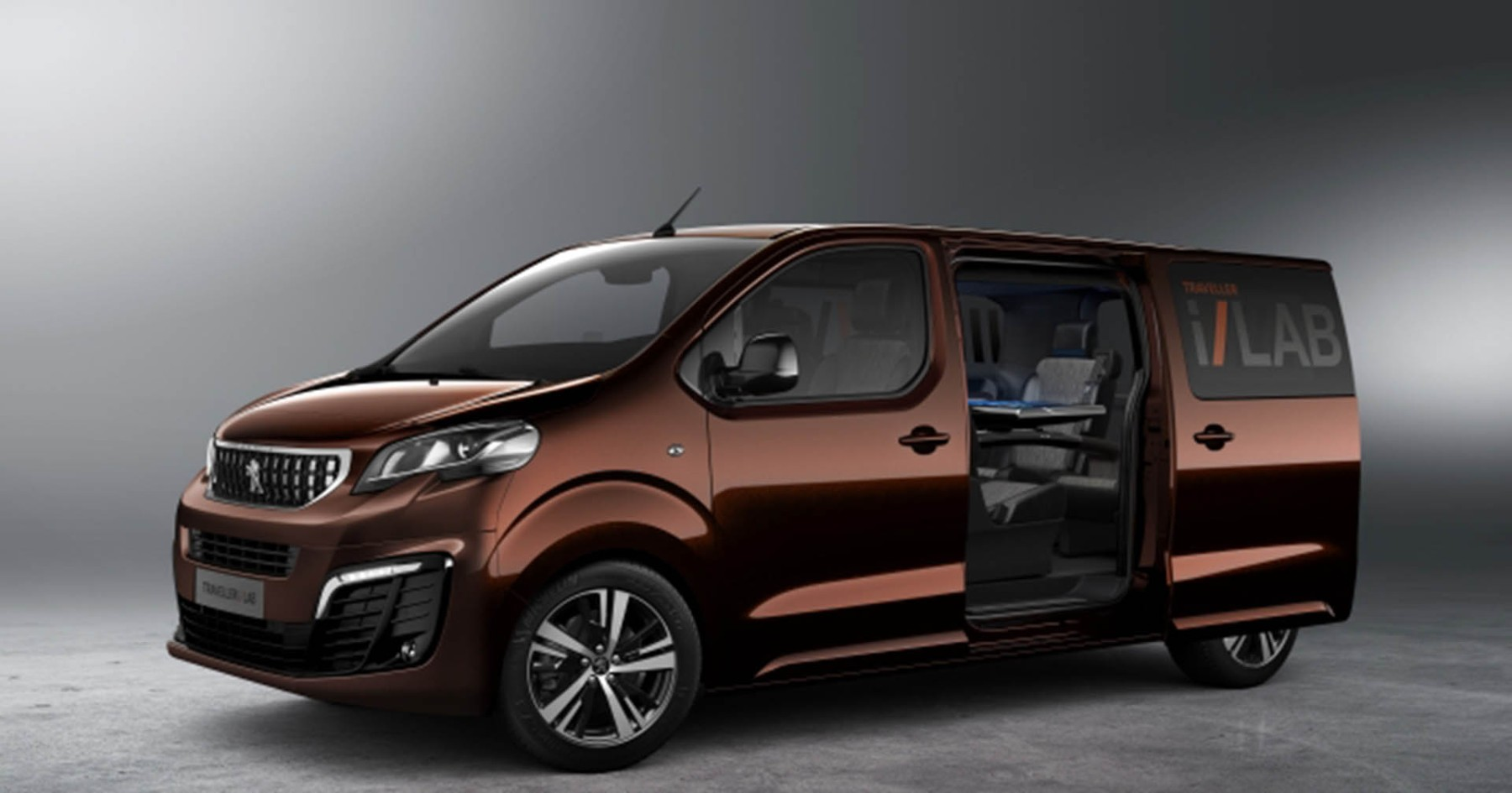 Bored of the Boardroom? Peugeot's i-Lab Concept Is a Boardroom on Wheels