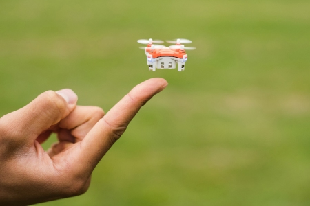 The Smallest Drone in All the Skies