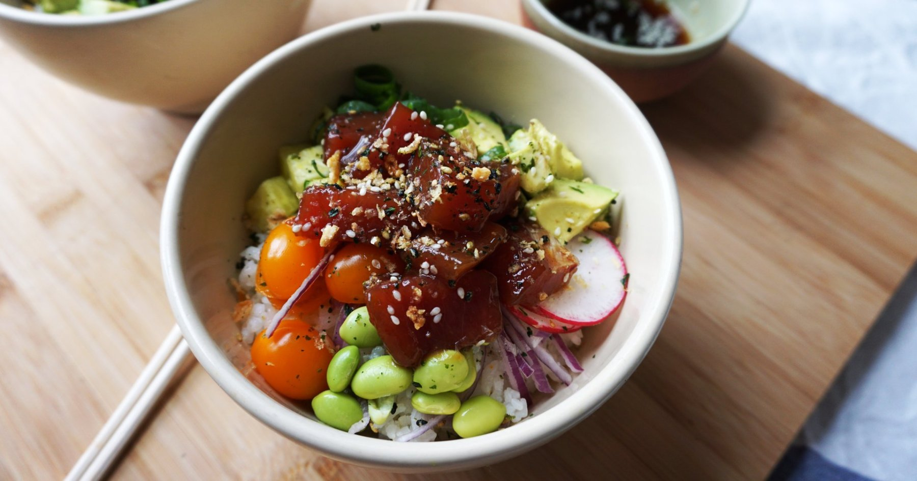 How to Make a Poke Bowl at Home, in 5 Easy Steps