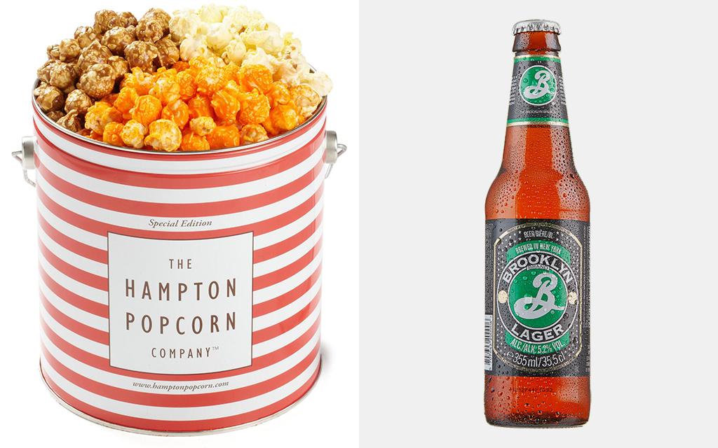 Best Beer Pairing for Popcorn Tin