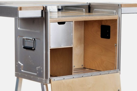 The Thing About a Portable Bar Is That's It's Portable