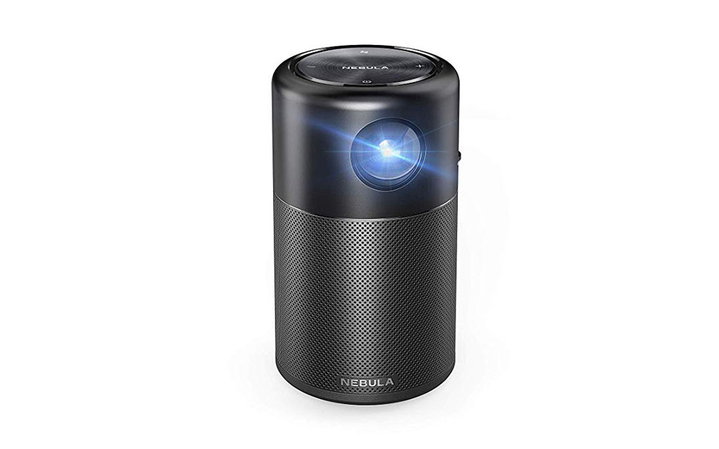 Nebula Capsule, by Anker, Smart Portable Wi-Fi Mini Projector