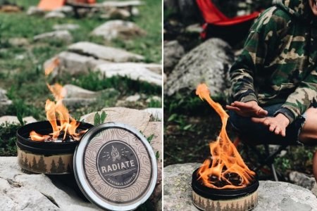 This Campfire-in-a-Box Is Portable, Idiotproof
