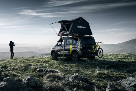Peugeot's New Rifter Concept Is Essentially a Campsite on Wheels