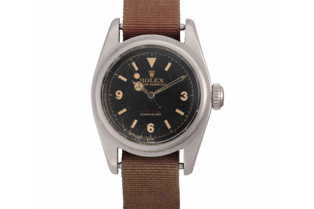 Why a Dirty, Decrepit Rolex Submariner Just Broke an Auction Record
