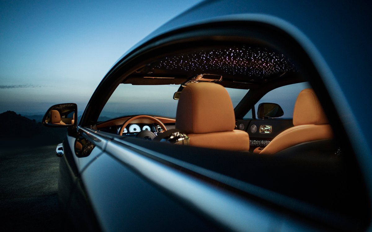 The Latest Release From Rolls-Royce Is a Planetarium on Wheels