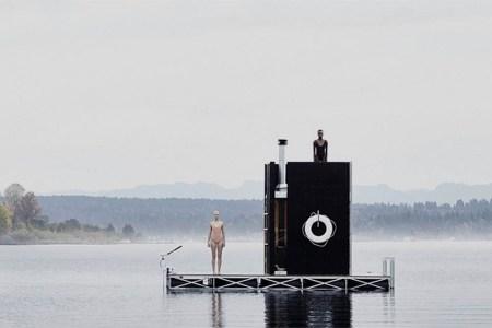 Seattle's Wood-Burning Pontoon Sauna to Set Sail This Summer