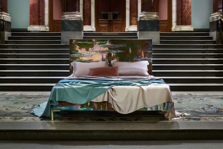 You Can Now Turn Any Painting in the UK National Gallery Into a Bedframe