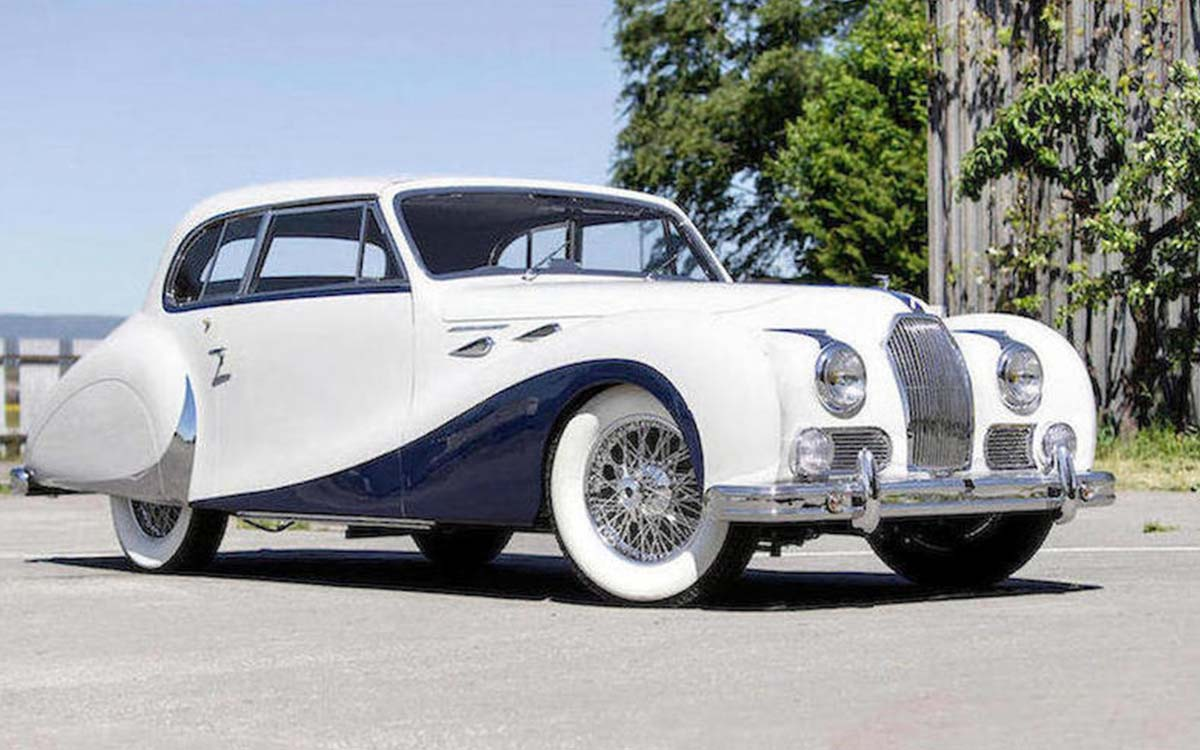 It Took Thousands of Hours to Restore This One-Off Talbot-Lago