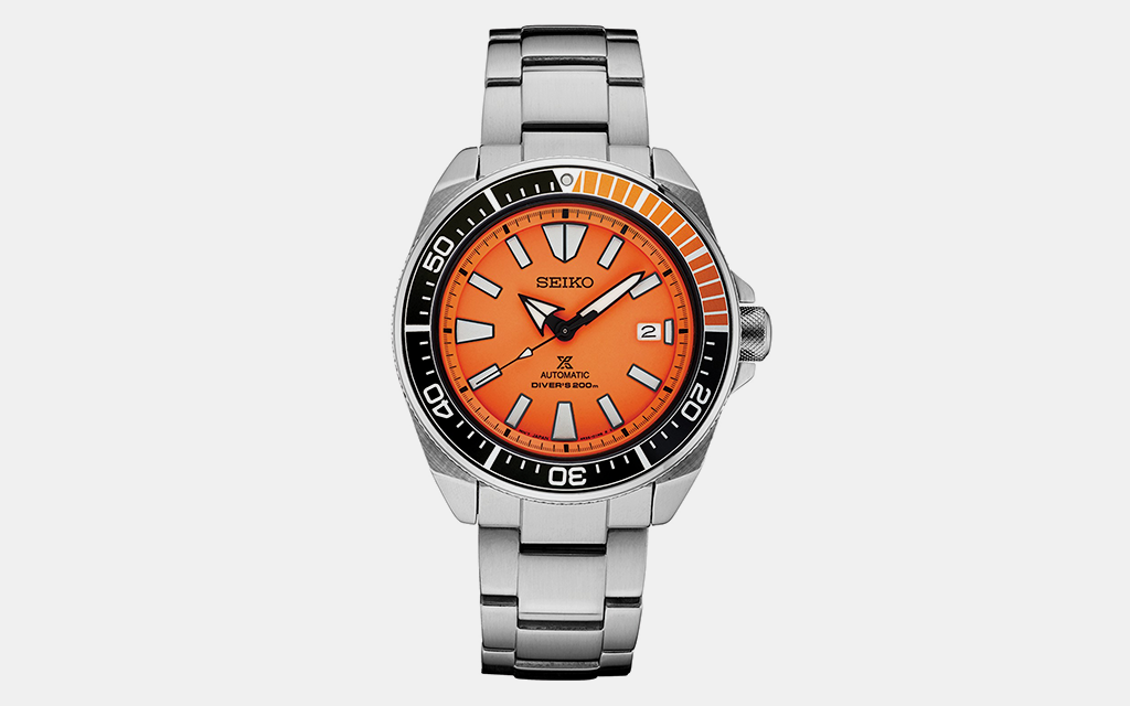Seiko Prospex Orange Dial