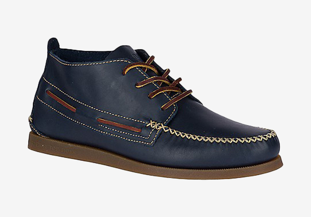 AUTHENTIC ORIGINAL WEDGE CHUKKA Sperry Cotton Freshen Up: Chivalry