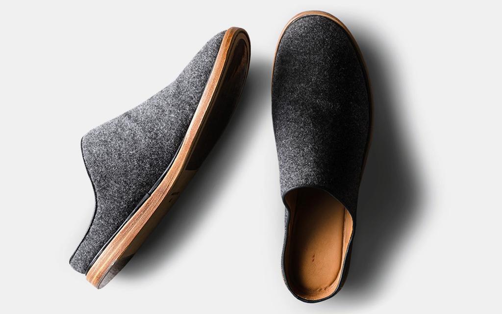 Wool Sneakers Hard Graft Slip On