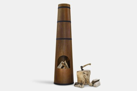 Gas, Charcoal or a Giant Wood-Burning Smokestack?