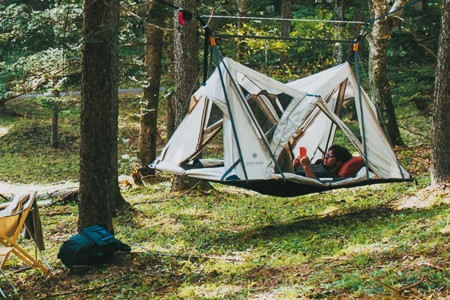 This Floating Tent Takes Camping to a Whole New Level