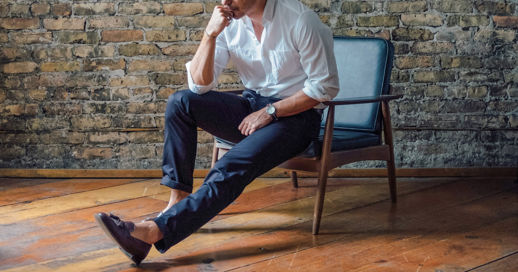 Ditch Your Jeans With Stock Manufacturing Co.'s New and Improved Chinos