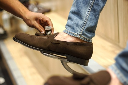 Here's Everything You Need to Know About Cleaning Suede Shoes