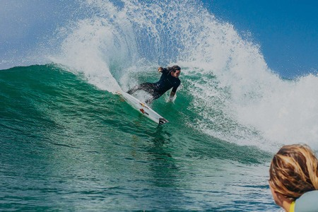 How a Champion Surfer Preps for El Niño