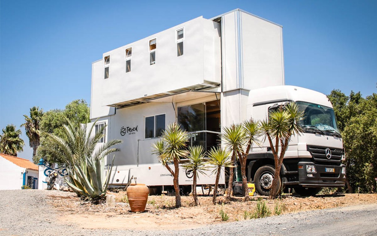 This Surf Hotel in a Truck Chases the Swells Wherever They Go