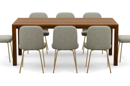 Interior Define Now Does Custom Dining Sets. They're Perfect.