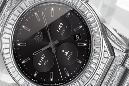 TAG Heuer Now Sells a Diamond-Encrusted Smartwatch