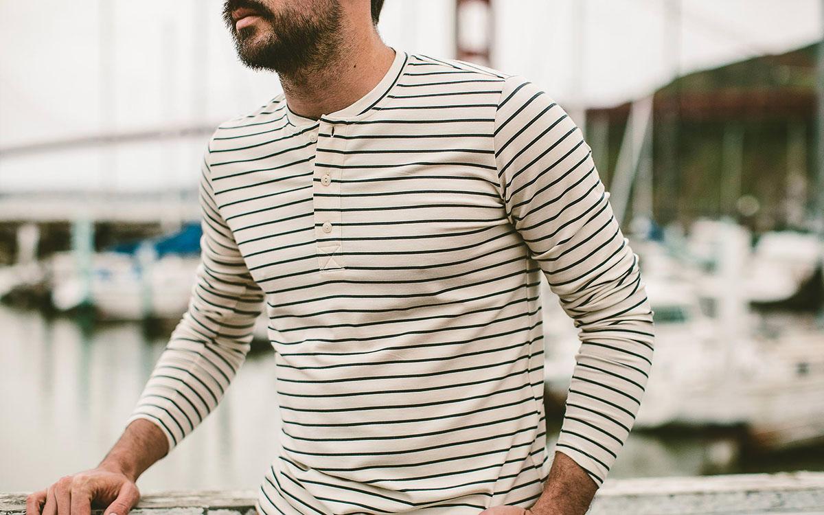 10 Long-Sleeve Henleys for Optimal Nonchalant Layering