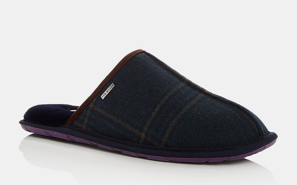 acd75e7ef645ad A mule is a traditional slipper, minus the heel coverage. If you've ever  stayed in a hotel that provides a pair of complementary shoes with ...