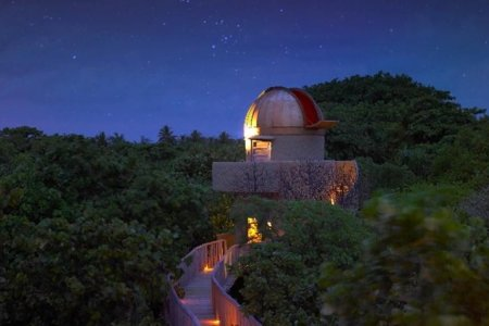 Wanna Gaze at the Galaxy in 3D? There's a Maldivian Resort for That.