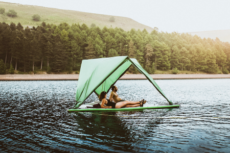 This 'Universal' Tent Will Give You Shelter by Land, Air or Sea