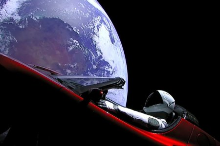 Long Story Short, There's a Tesla Floating Around in Space Now