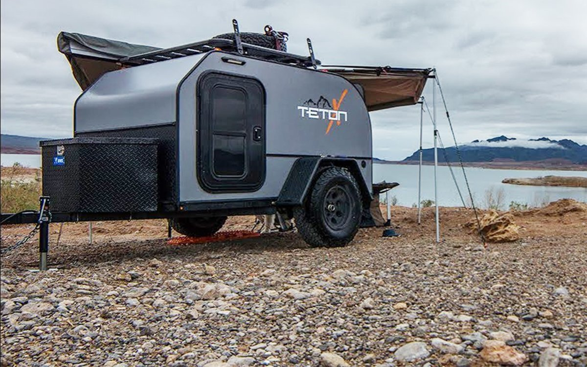 TetonX Trailers Make a Strong Case for Never Camping in a Ground Tent Again
