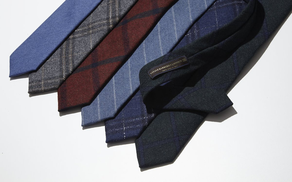These $35 Ties Came From the World's Oldest Wool Mill
